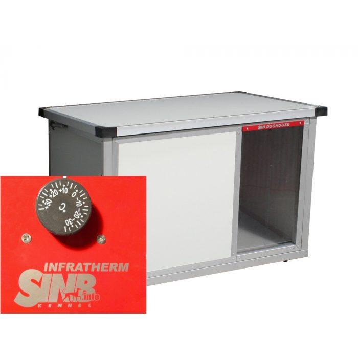 INFRA HEATED Thermo-RENATO dog house