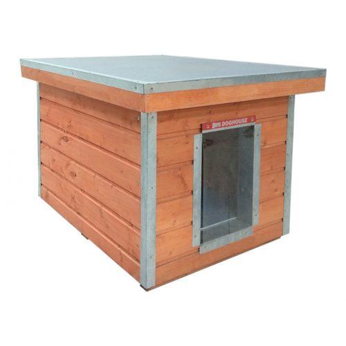 "[M-HS-LT] Thermo Madera dog house LT ""S"" insize(LxBxH:66x46x40cm)"
