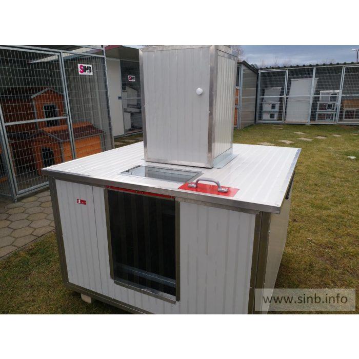 [REB-150]  Whelping Box Renato REB-150, insize (LxWxH:150x160x75cm)