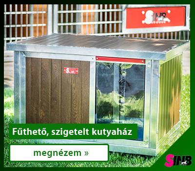 Szigetelt, fűthető kutyaházak
