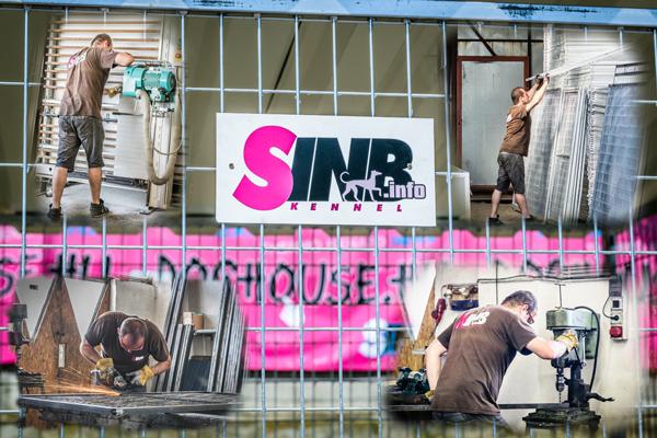 Kutyaház műhely a SINB-nél