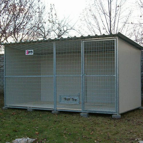 Domestic dog kennels for resellers.