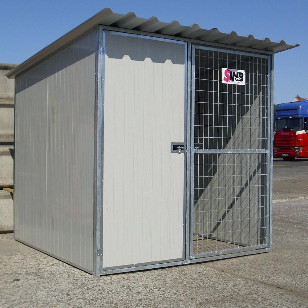 COMBINO Kutya kennel, 2x2m alapterület, padozat nélkül